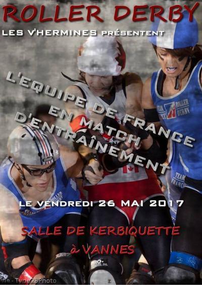 L'équipe de France à Vannes