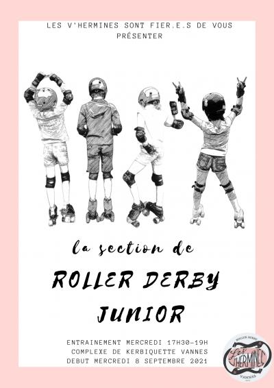 Nouvelle section: Roller Derby Junior