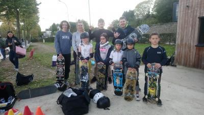 Enfin du skate au Grol !
